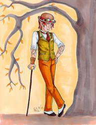 Steampunk Gabriel by CinsAngel