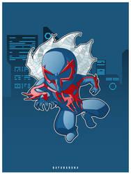 Spider Man 2099 by bayubaruna