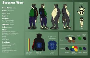 sergeant wolf Ref Sheet 2016 by pikminpedia