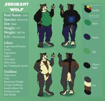Sergeant Wolf Ref Sheet 2017 by pikminpedia