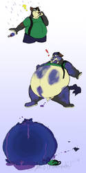 Sarge the Blueberry by pikminpedia