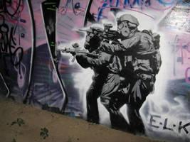 ELK soldiers by brianrietta
