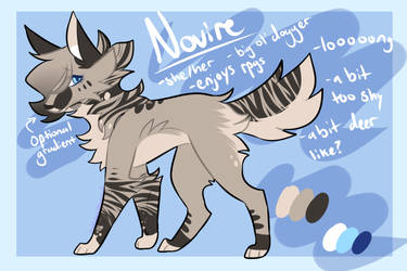 Novire Ref by HeIIahounds