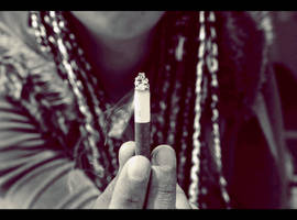cigar by loveiisparanoid