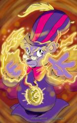 Zummi Gummi's Magic Spell by BabyMessina89