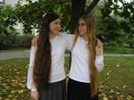 Long hair by LadySenaline
