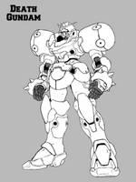 Death Gundam by everyfaces
