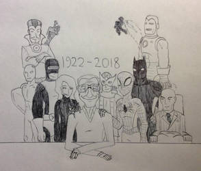 Rest in Peace Stan Lee by Reshiramaster
