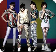 2NE1 by BadChemicalGirl