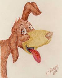 Tarzan the Dog by roslaug