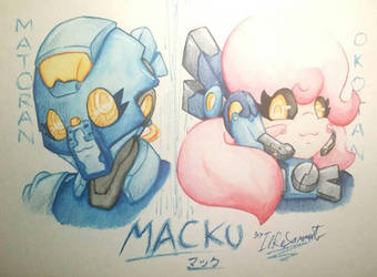 [Traditional] MACKU (Bionicle/Bionicle: Reborn) by IlReSanmto