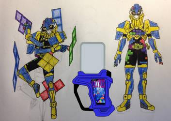 Kamen Rider Stack by KamenRiderDeCaliber