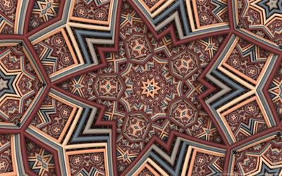 Islamic pattern by Dmitry-Bitus