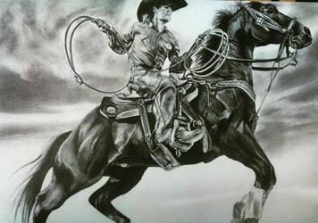 Cowboy by Phernandoortiz