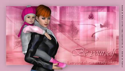 BeYourself by PurplesDesign