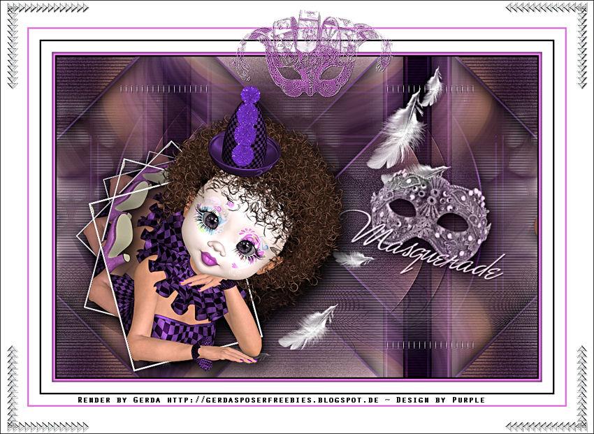Masquerade by PurplesDesign