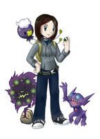 PKMN Trainer Sara by Hewryu