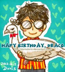 Happy Birthday Draco by dorisdoris