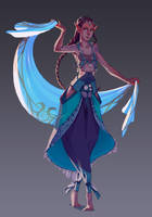 Dancer by Rozen-Clowd