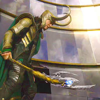 Loki Laufeyson by Saruz96