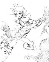 Kingdom hearts - Sora by ancode