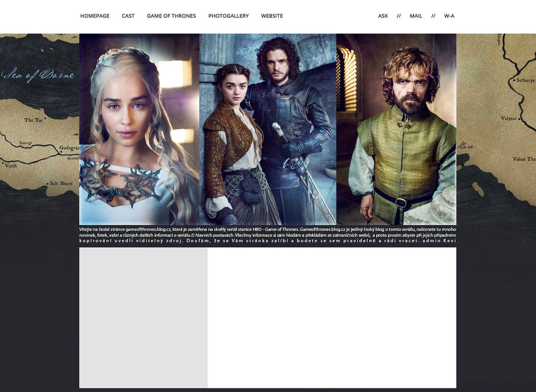 Ordered layout | Gameofthrones.blog.cz #2 by KeviWorldArt