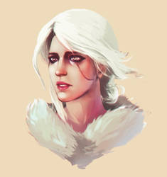 Cirilla Fiona Elen Riannon by Ciwiaf