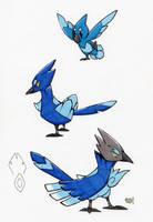 Cobalt Flock by ScalySchisms