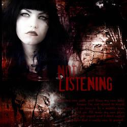 not listening by birkie