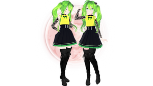 [MMD] TDA Yuna - Download in Description by TheDeMoon