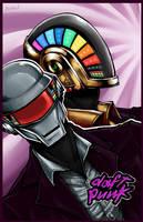 Daft Punk by Bevintock