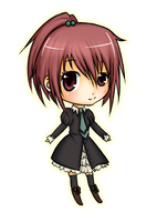 Commish: Aoi Nagisa Chibi by iNintendo