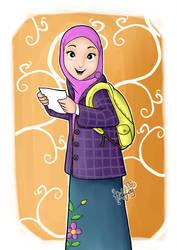 Hijab Traveler by habziHAURAhman