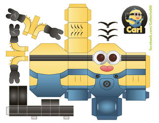Carl the Minion by Moomuu