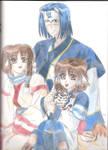 One Happy Family by Saiyajin-hime