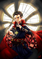 The Master of the Mystic Arts by CsavarNat16