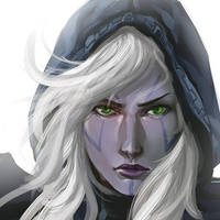 Drow by mqken