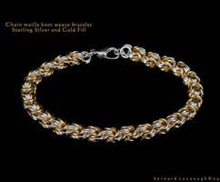 Knot Weave Bracelet by horai
