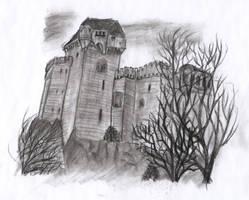 Castle Lichtenstein by Bj83