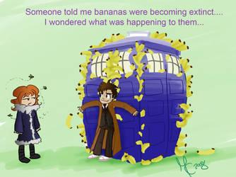 Bananas becoming extinct -DW by KittyMira