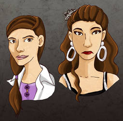 Molly Hooper - Normal and Drinkies mode by cutefuzzyspider