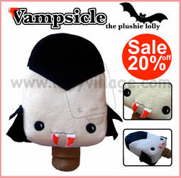 Vampsicle the plushie lolly by fuzzy-jellybeans