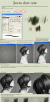 Hair tutorial by leejun35