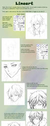 Lineart tutorial by leejun35