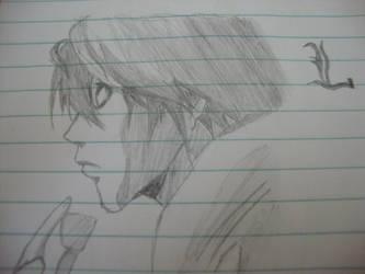 L - Sketch by mangoesRawr