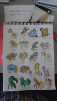 Little ponies made of ticky-tacky by QueenAnneka