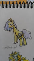 OC pony: Cottonseed by QueenAnneka