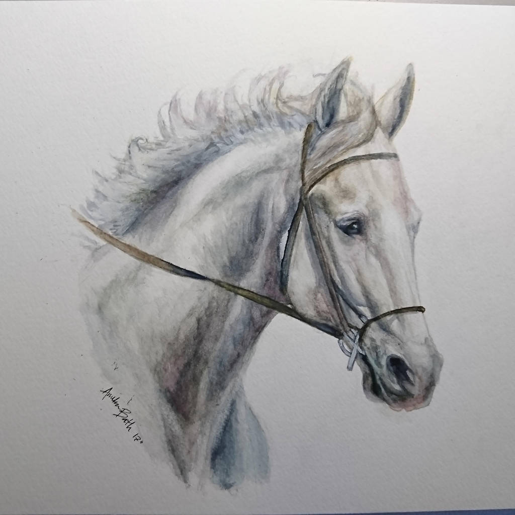 Commission: Josh in watercolors by QueenAnneka