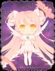 Chibi Goddess Madoka by KokoTensho