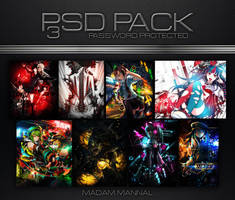 PSD Pack 3 by Madam-Mannal